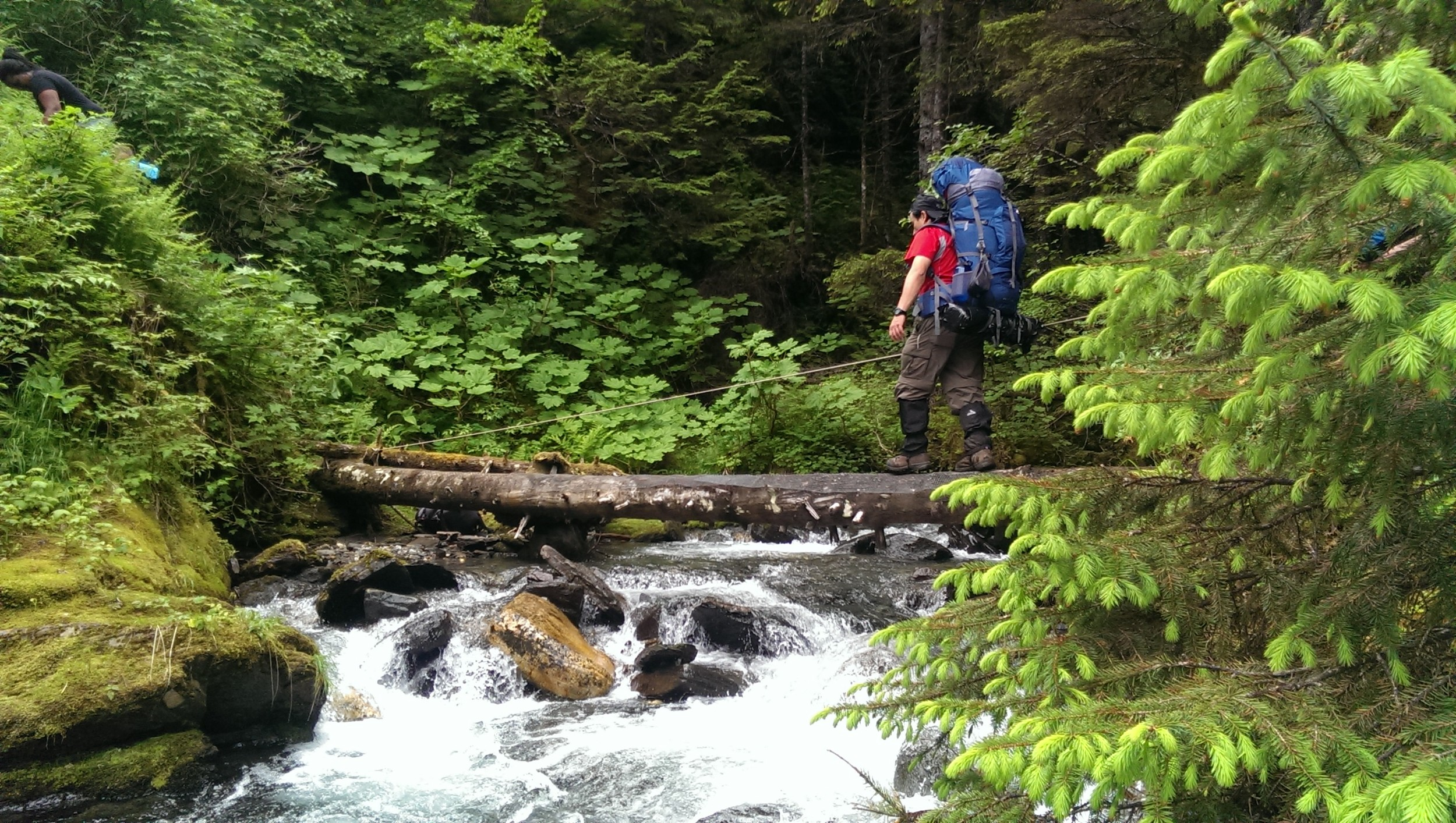 The unforgettable trek to Camp 17A. (Photo by Stan Pinchak)