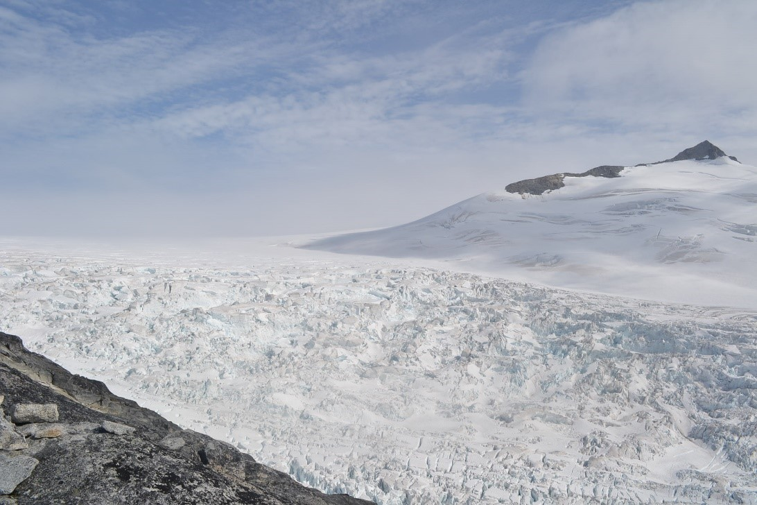 The Vaughan Lewis Icefall. Photo by author