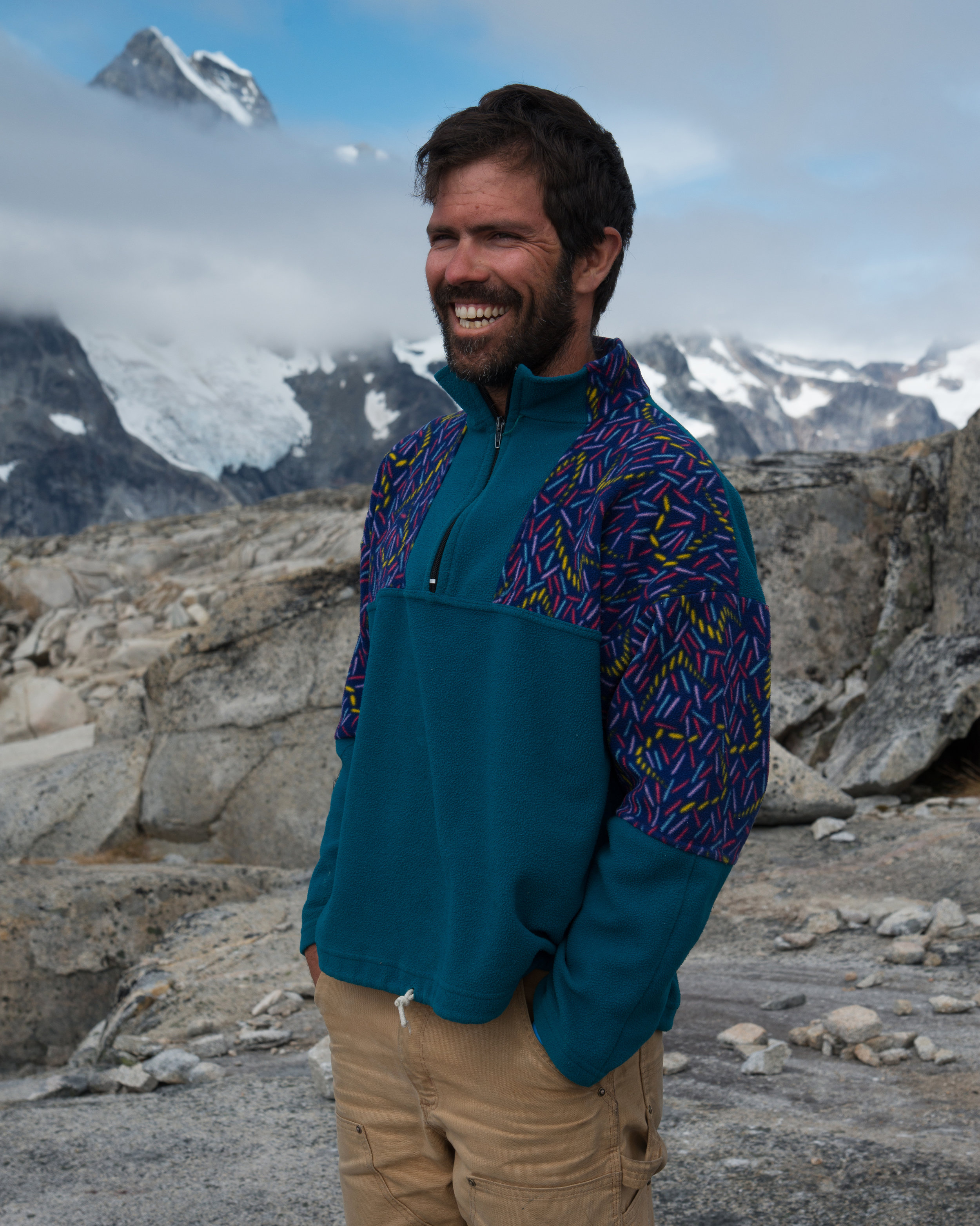 Brad trivia: In his many years at JIRP, Brad has never once woken up in a bad mood on the Icefield.