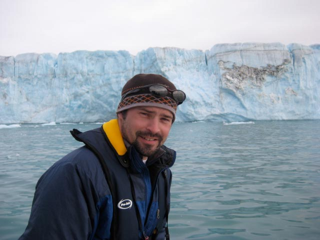 Seth, during one of his 50+ cryosphere research field seasons.