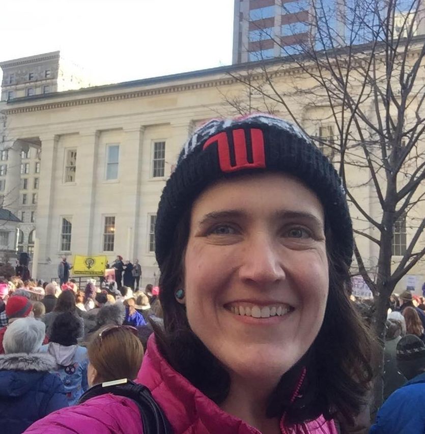 Sarah considers her work as a social justice activist to be an integral part of her work as a climate scientist.