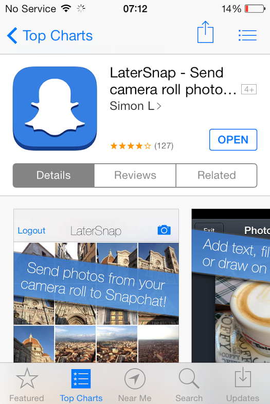 How to Upload Photos to Snapchat From Camera Roll | LaterPic