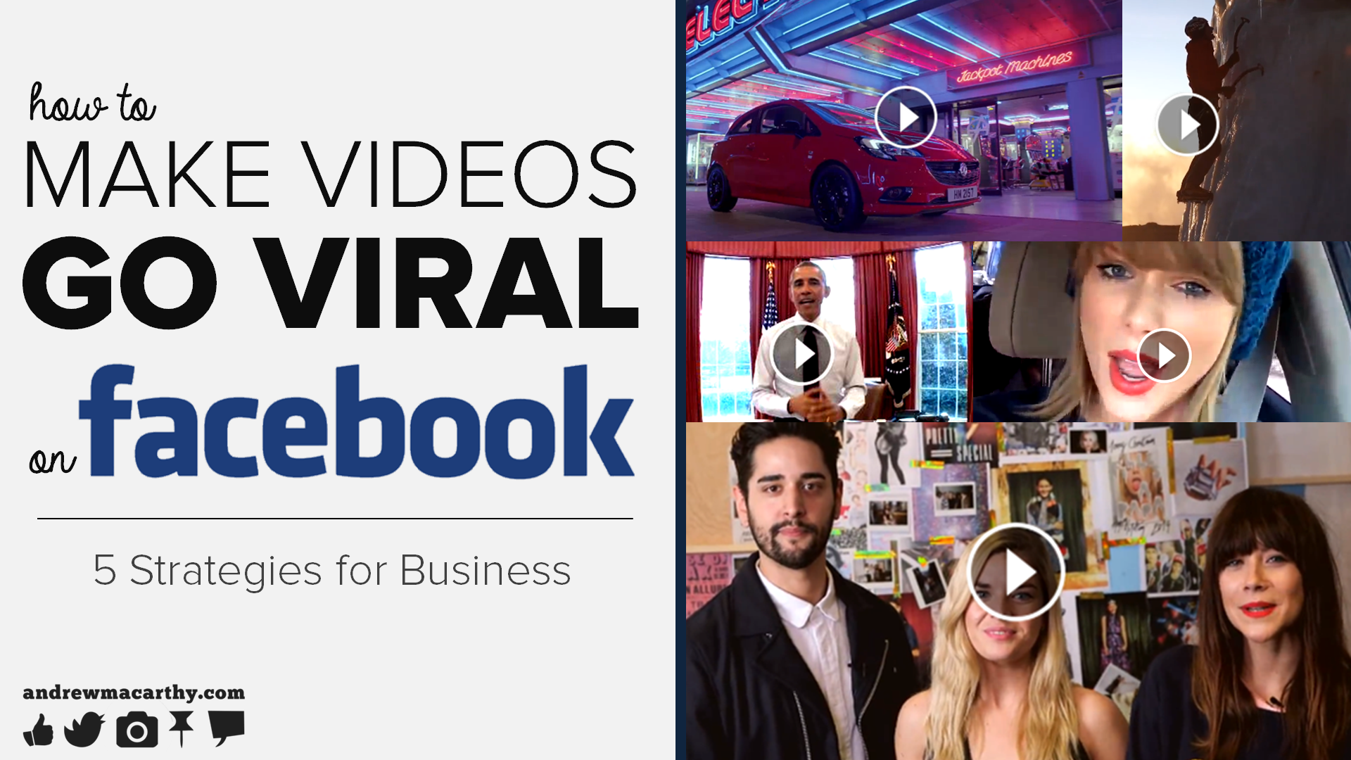 How to Make Videos Go Viral on Facebook - 5 Strategies For Business