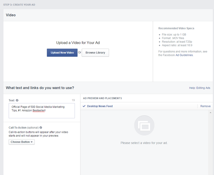 How to Create And Optimize Facebook Video Ads (Get More Video Views