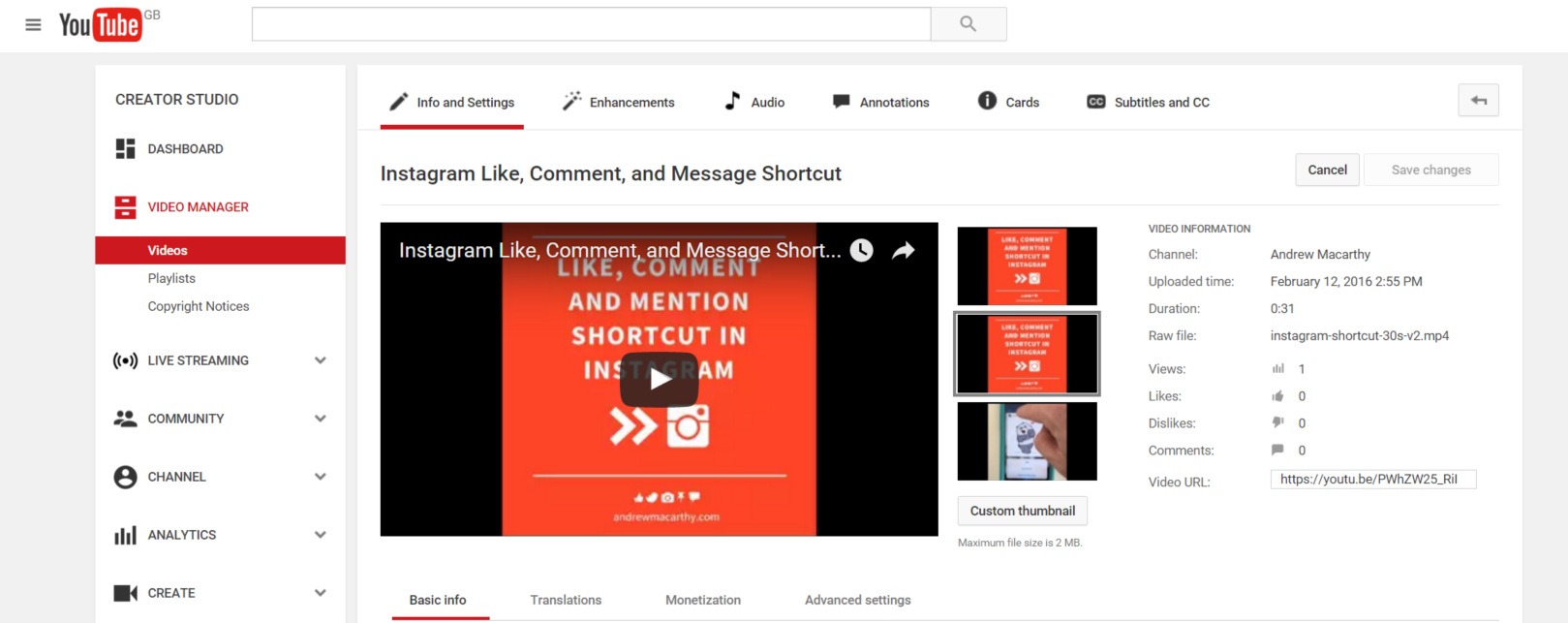How to Add YouTube Poll Cards to Videos (And Everything Else