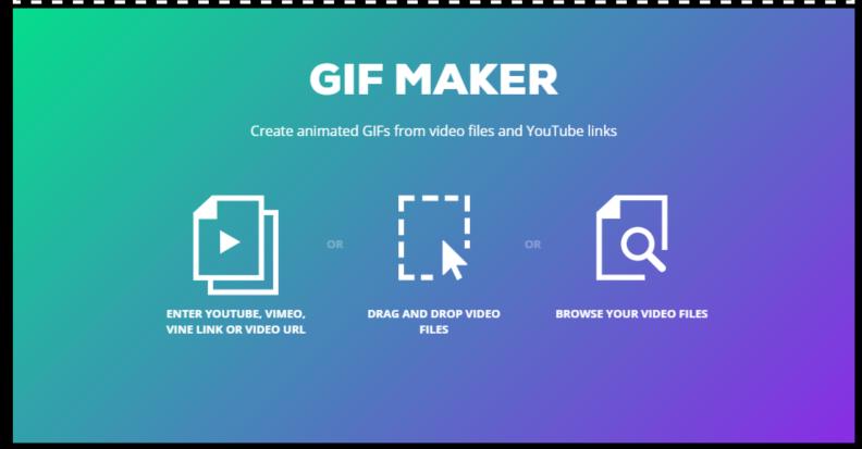 GIPHY's GIF maker