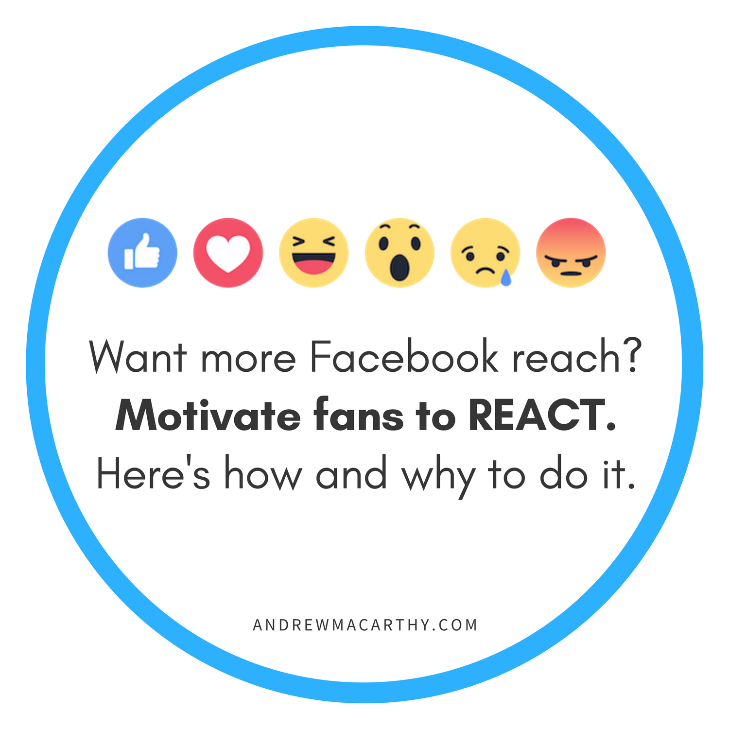 Want More Facebook Reach? Motivate Fans to REACT. Here's How and Why to Do It