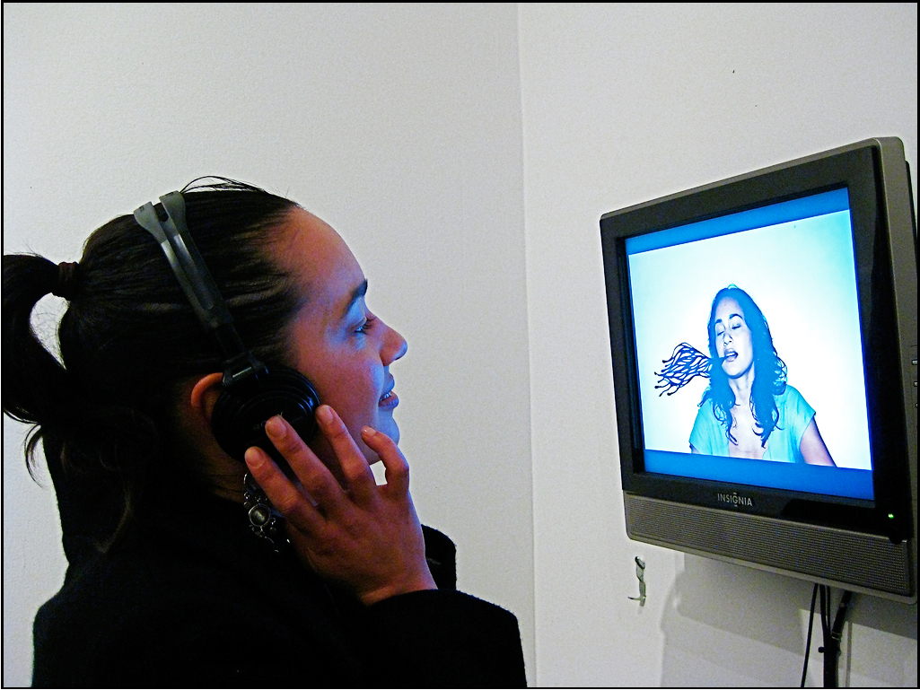 """My Portrait Of Your Identity, Your Portrait Of My Identity. Lucie"" 2008  A Video Collaboration With Antonia Dias Leite."