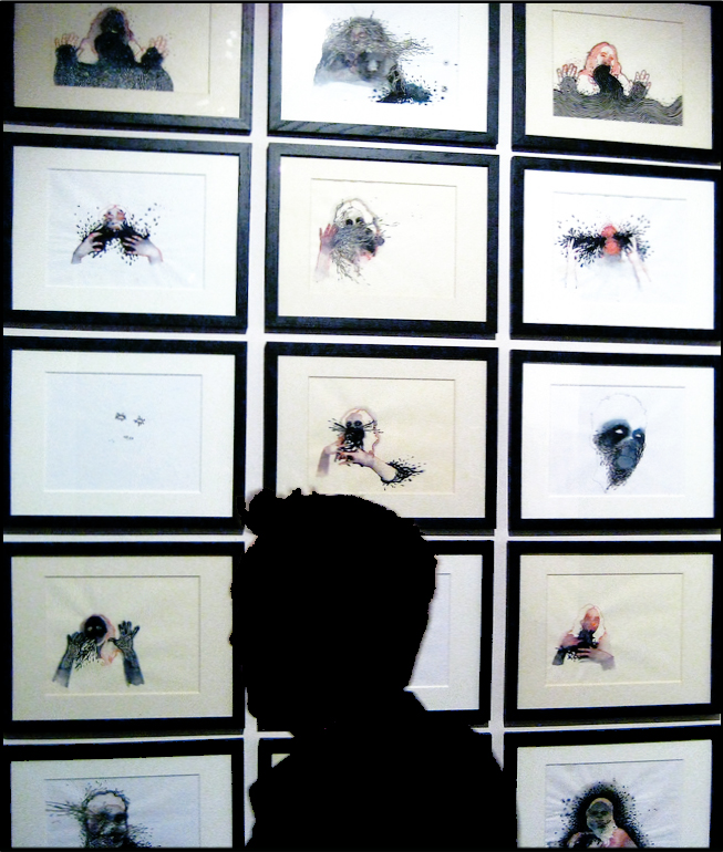 """""""My Portrait Of Your Identity, Your Portrait Of My Identity"""" 2008  Installation View"""