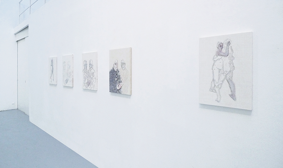 Double Portrait    Installation view