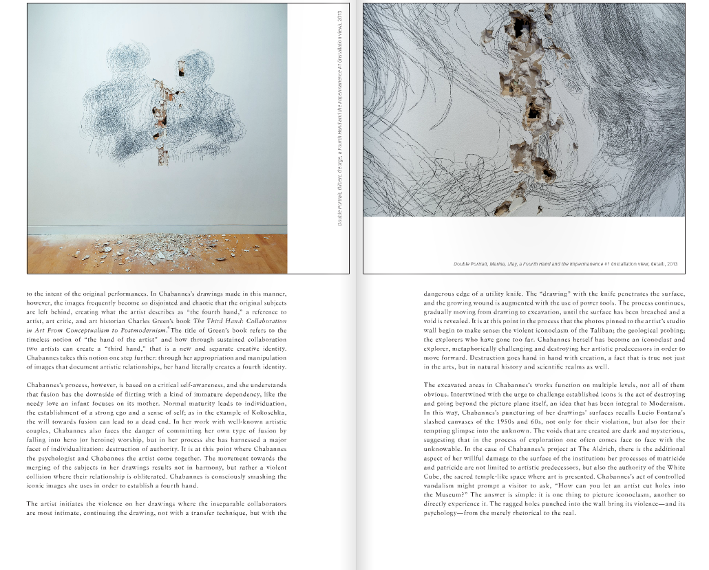 Solo Show at The Aldrich Museum - Exhibition Catalog Extracts - Texts By Richard Klein