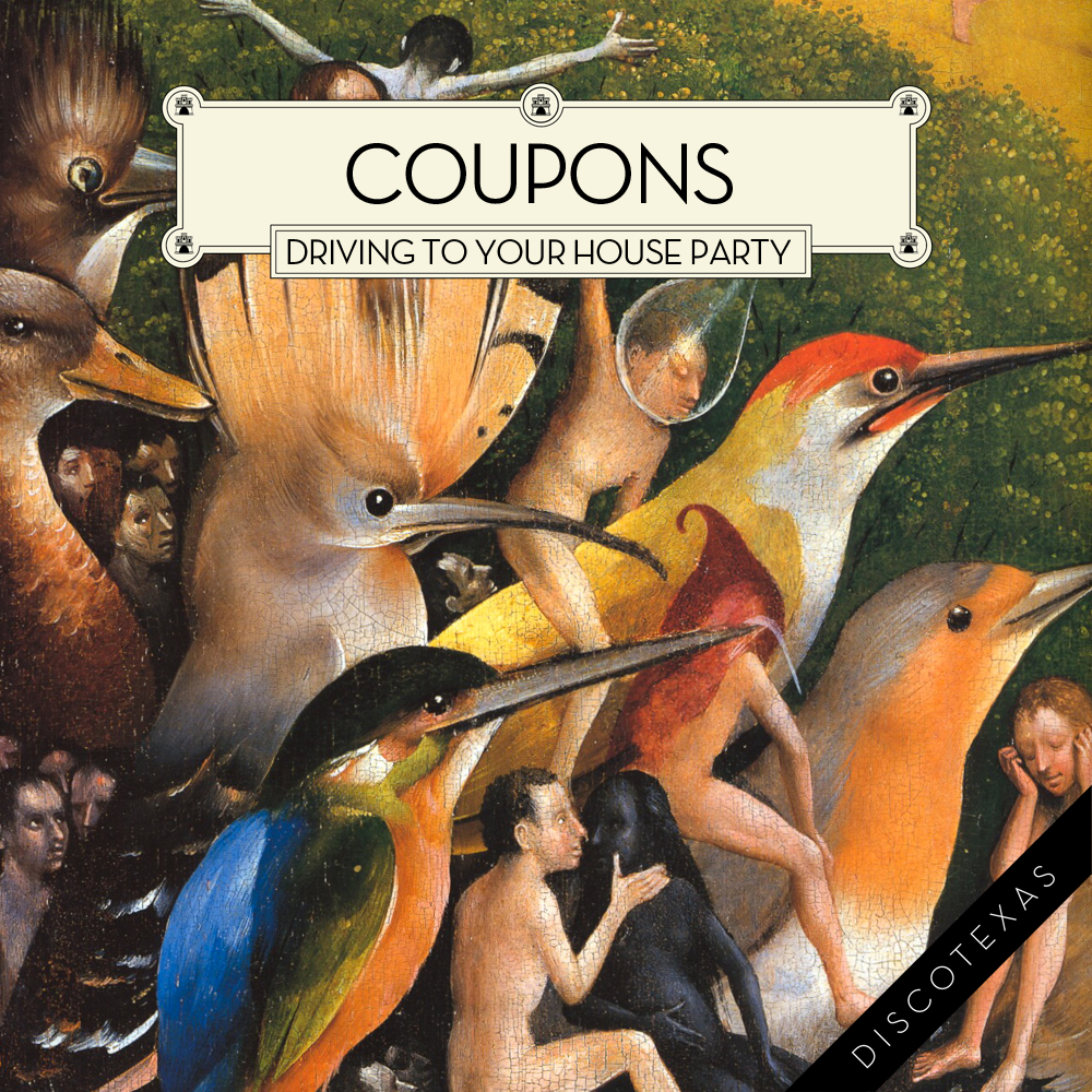 DT006 - Coupons - Driving To Your House Party