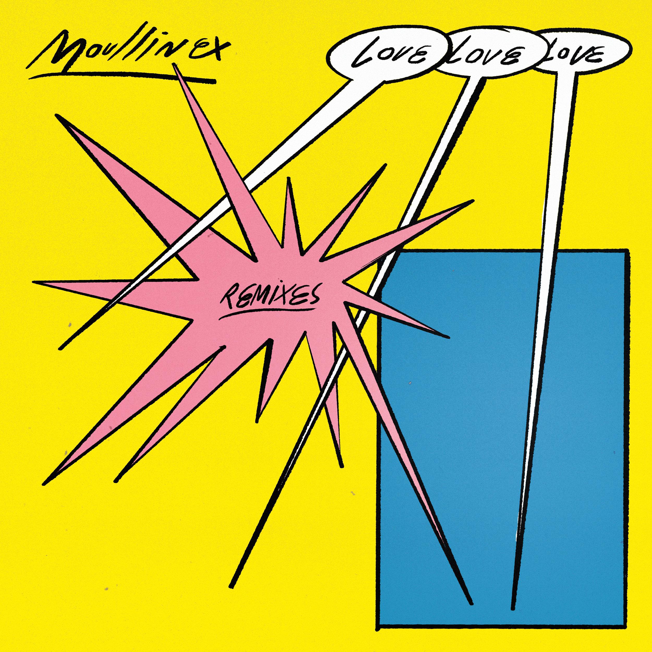 DT075: Moullinex - Love Love Love Remixes