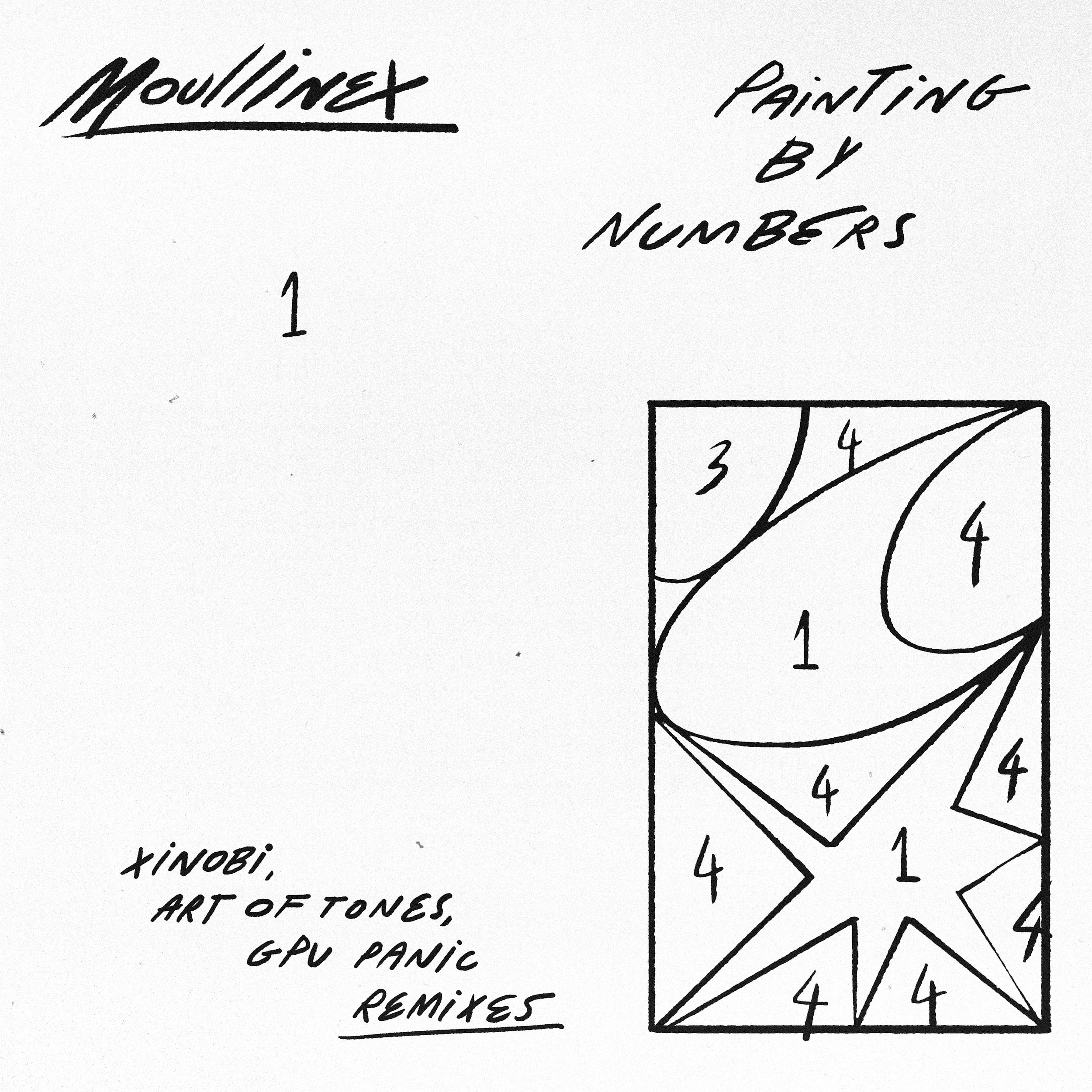 DT085: Moullinex - Painting By Numbers Remixes