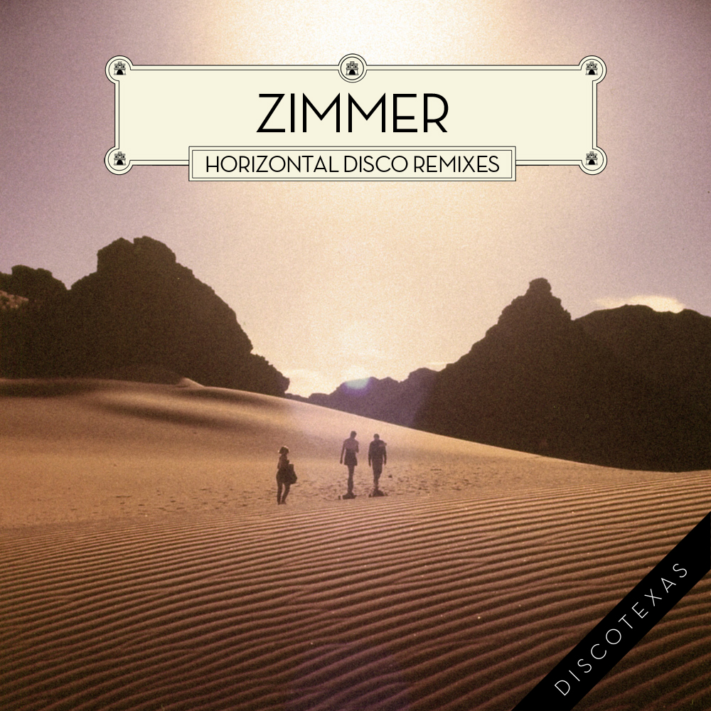 DT021 - Zimmer - Horizontal Disco Remixes (2012) cover.jpg