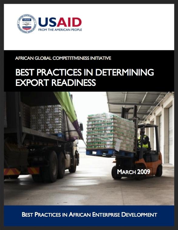 AGCI: Determining Export Readiness Best Practices