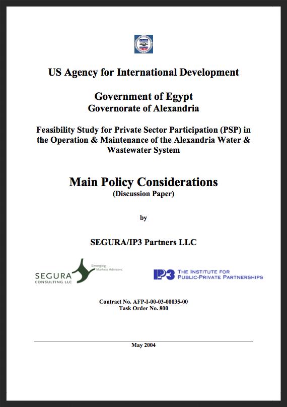 Alexandria Policy Considerations