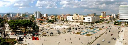 Tirana, ALBANIA - May 2012