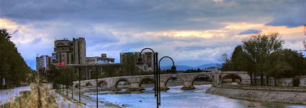 Skopje, MACEDONIA - April 2010
