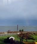 Rainbow over the Puget Sound