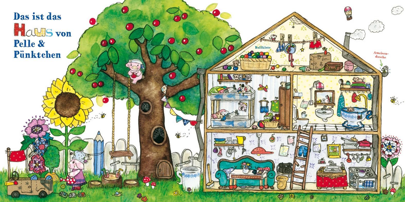 Pelle und Pünktchen - Haus