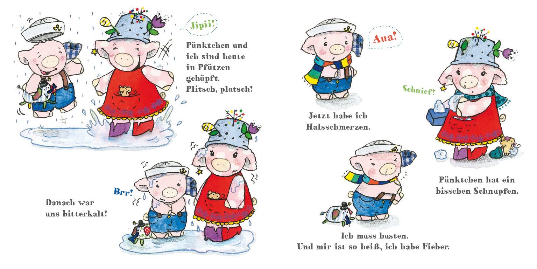 Pelle und Pünktchen - krank