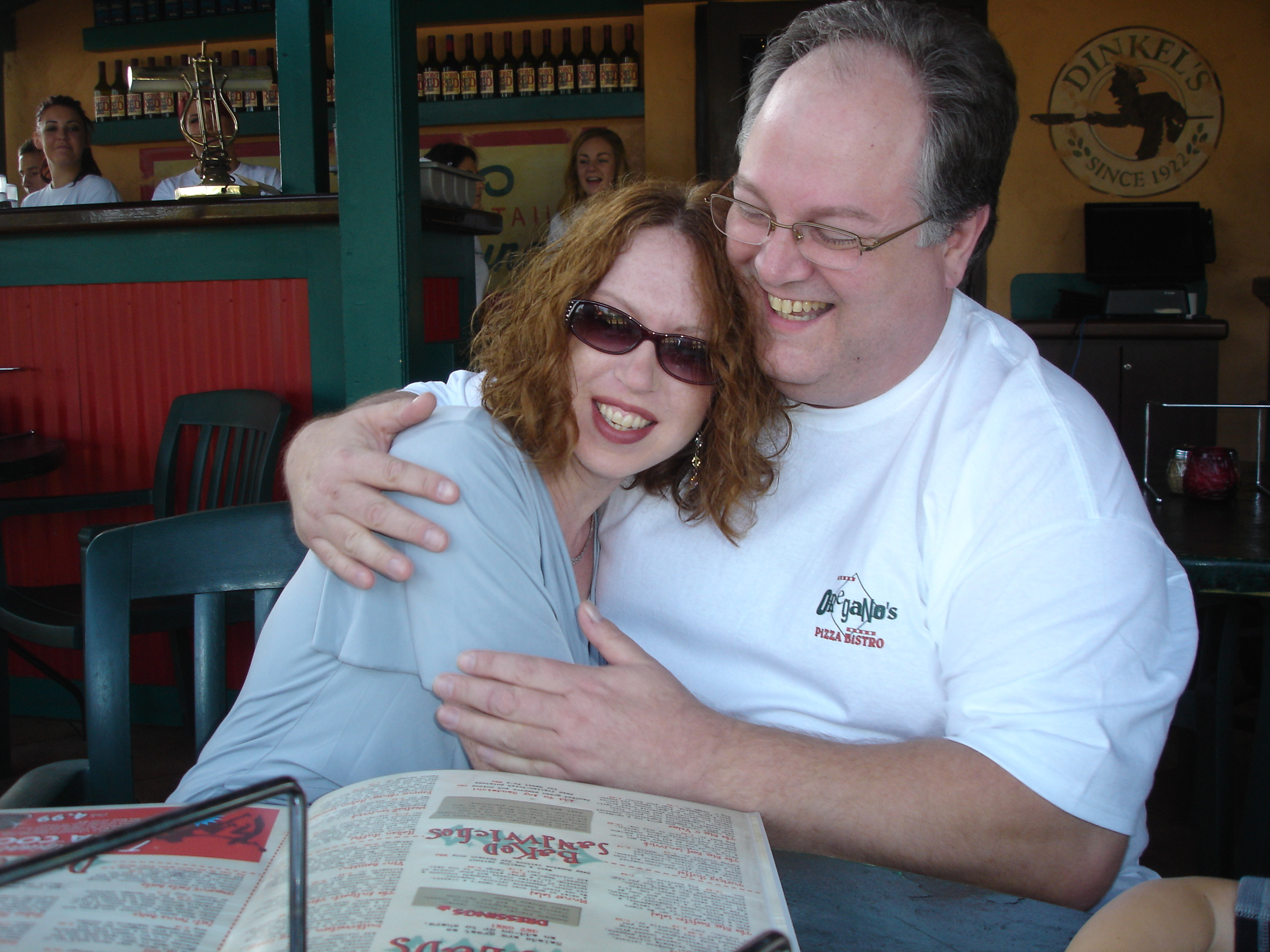 Dan Proposed & Betsy accepted! in Sept '12              At Oregano's Restaurant in Arizona