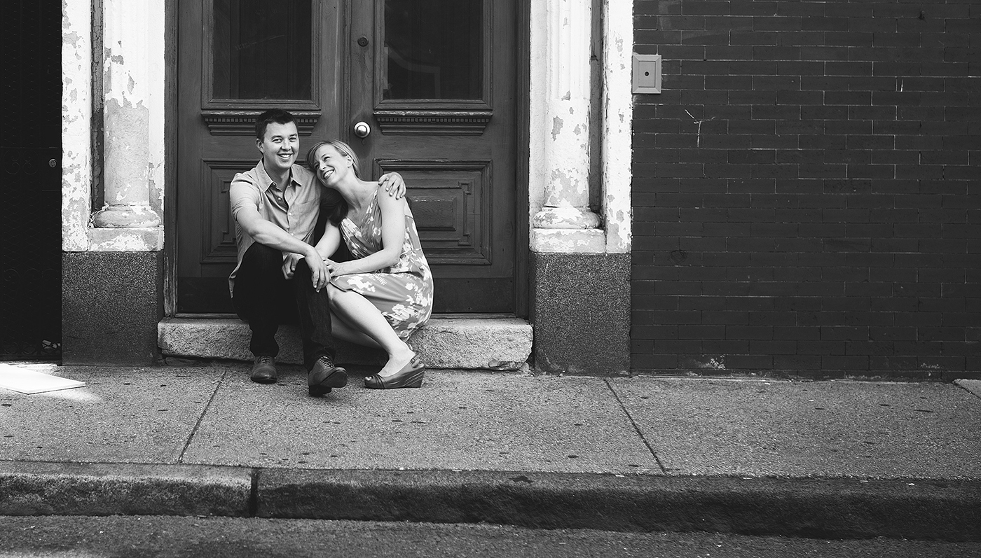 My first engagement shooting, in Boston's beautiful North End.