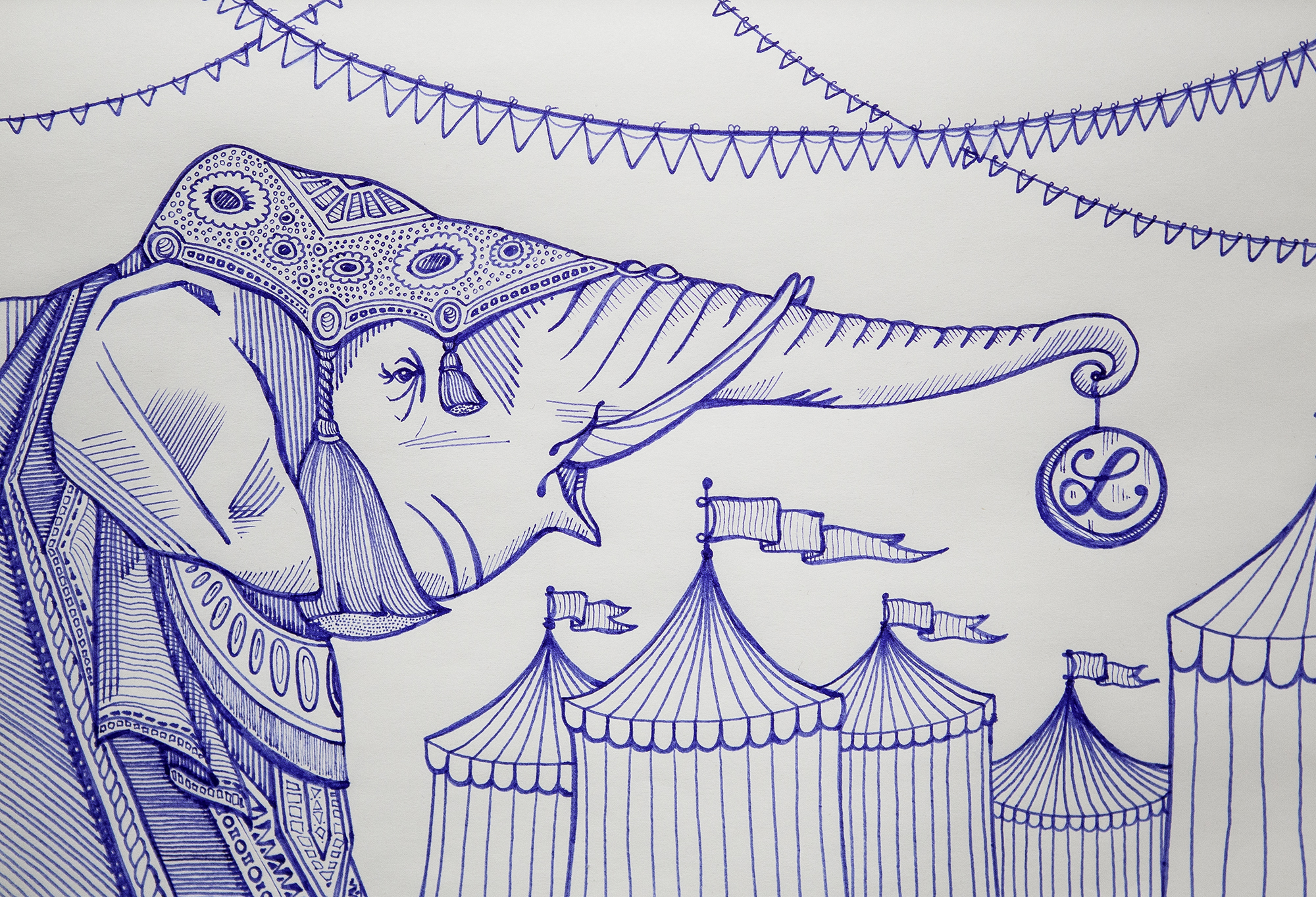 Some of you liked the random whale. So, here's a random elephant. Conversely, this one is slightly less sad than intended.