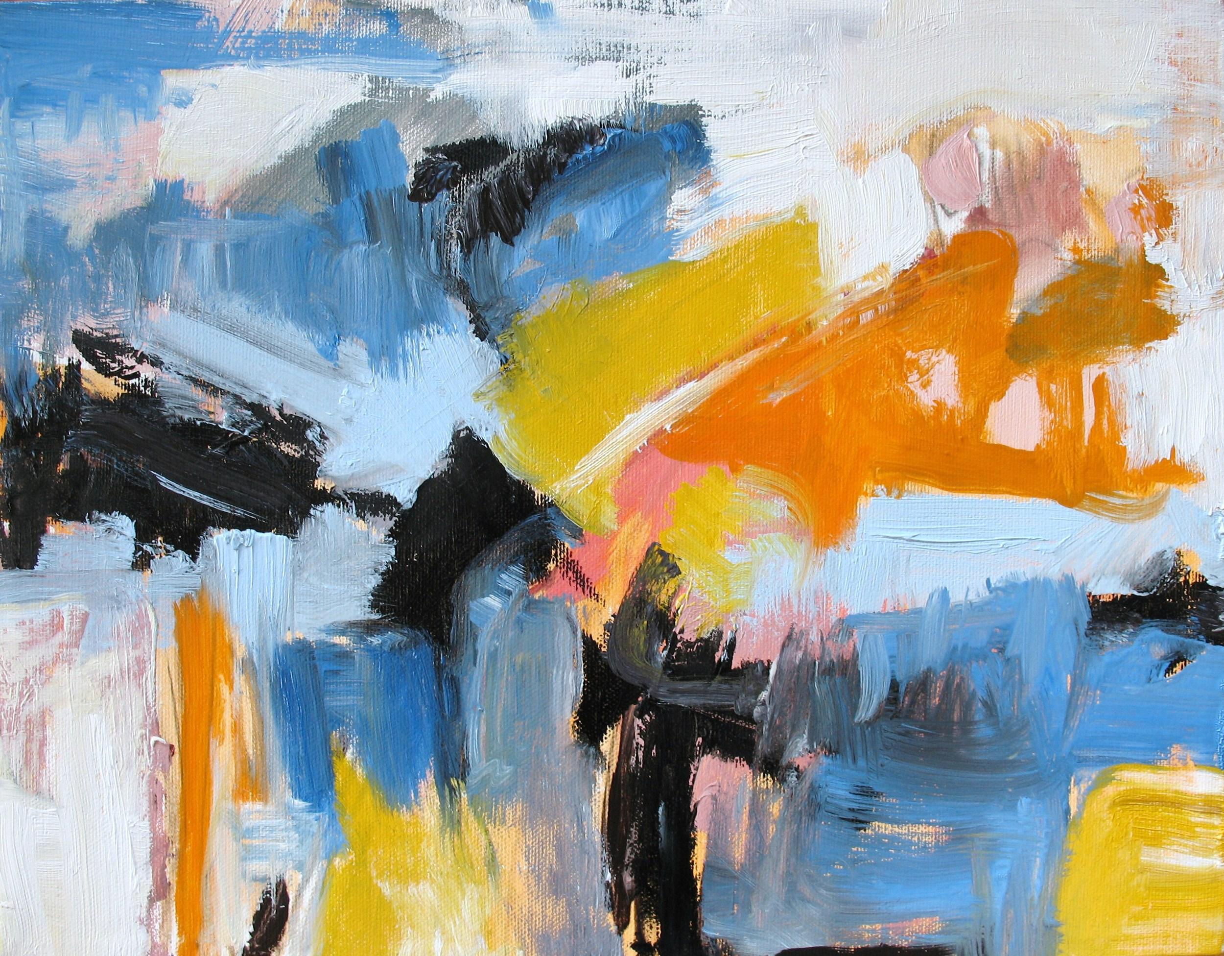Bridge, 2009/ Oil on canvas, 10 x 12