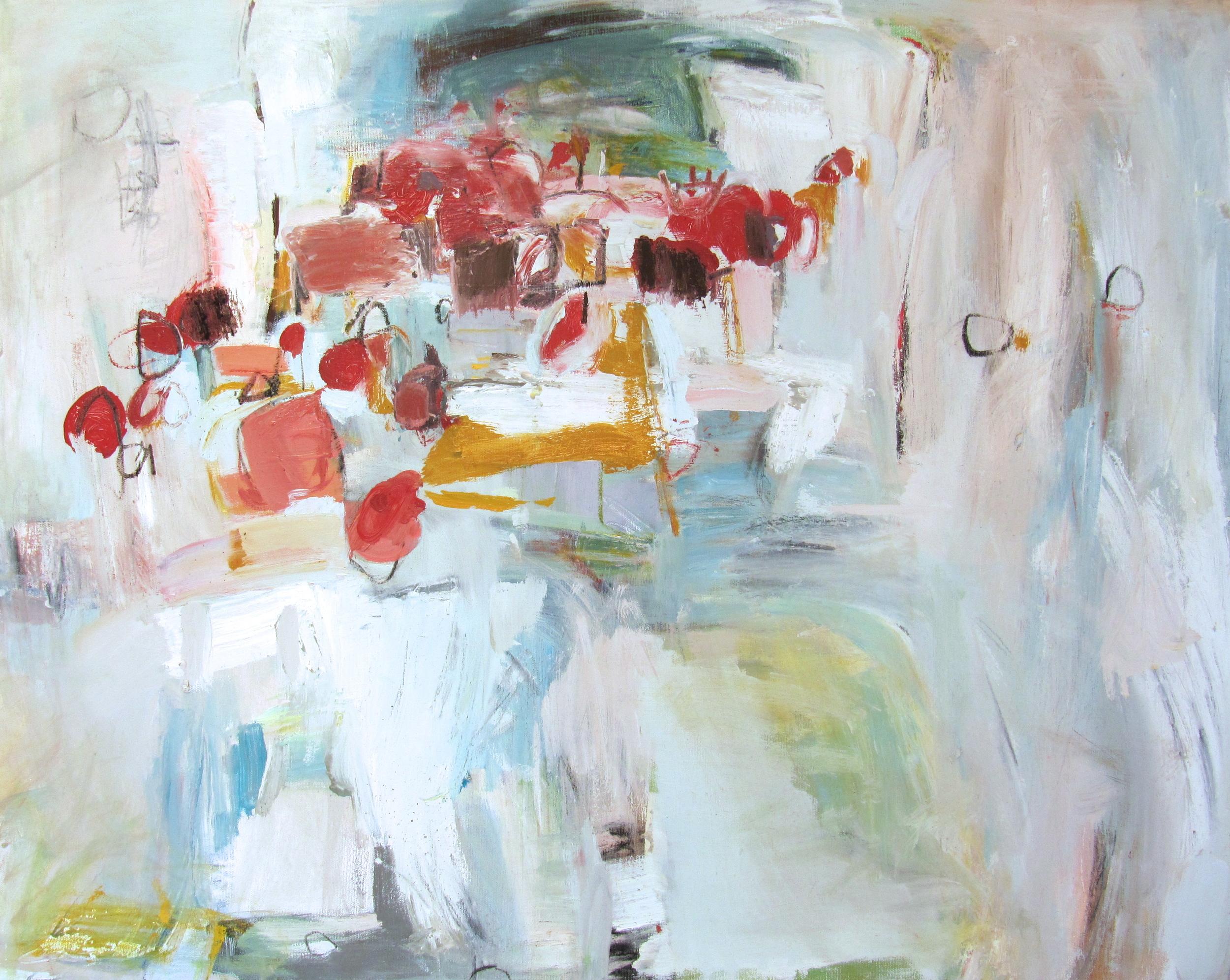 Osmose, 2013 / Oil on canvas, 24 x 30