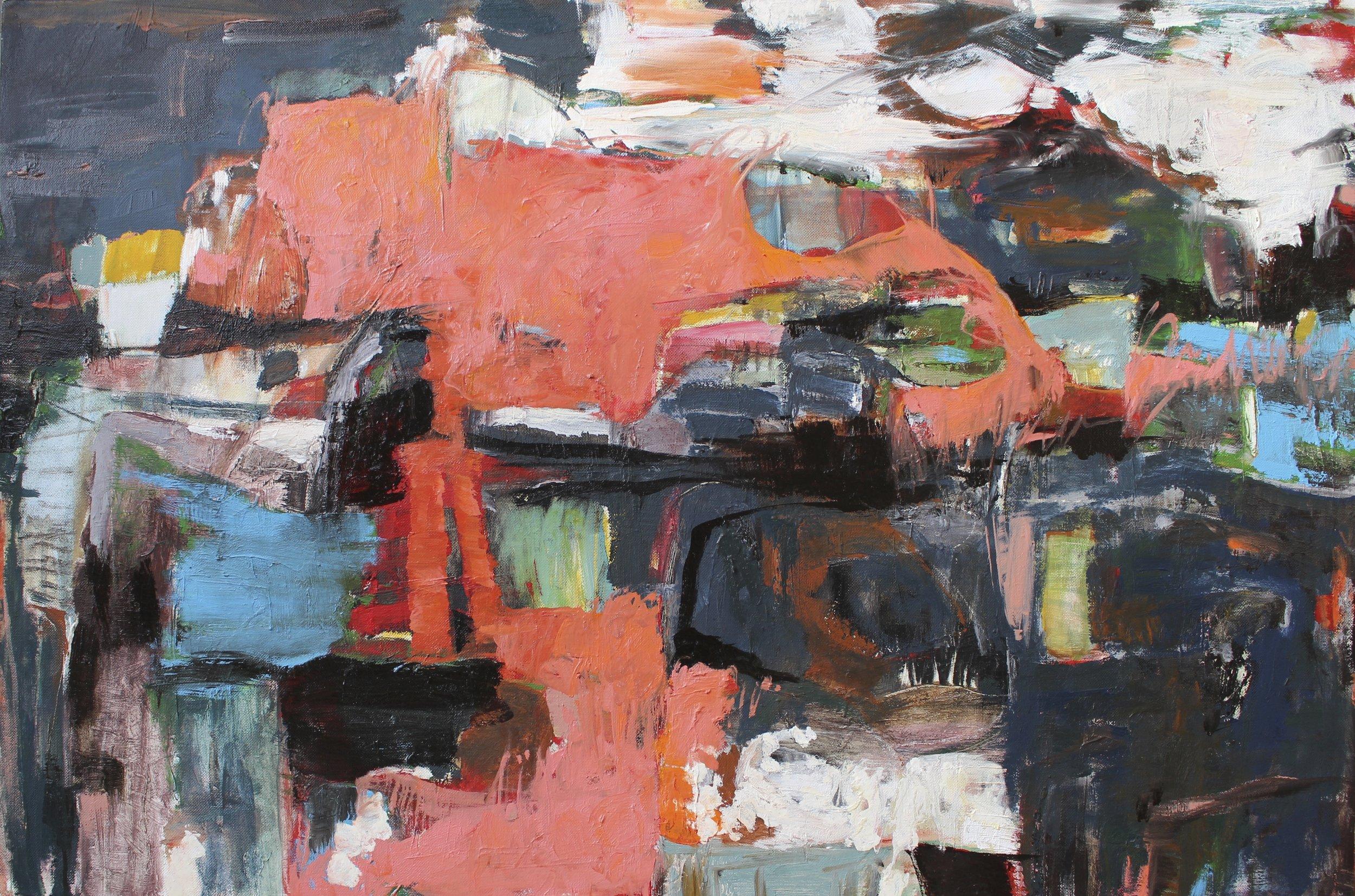 Ketu, 2016 / Oil on canvas, 24 x 36 / SOLD