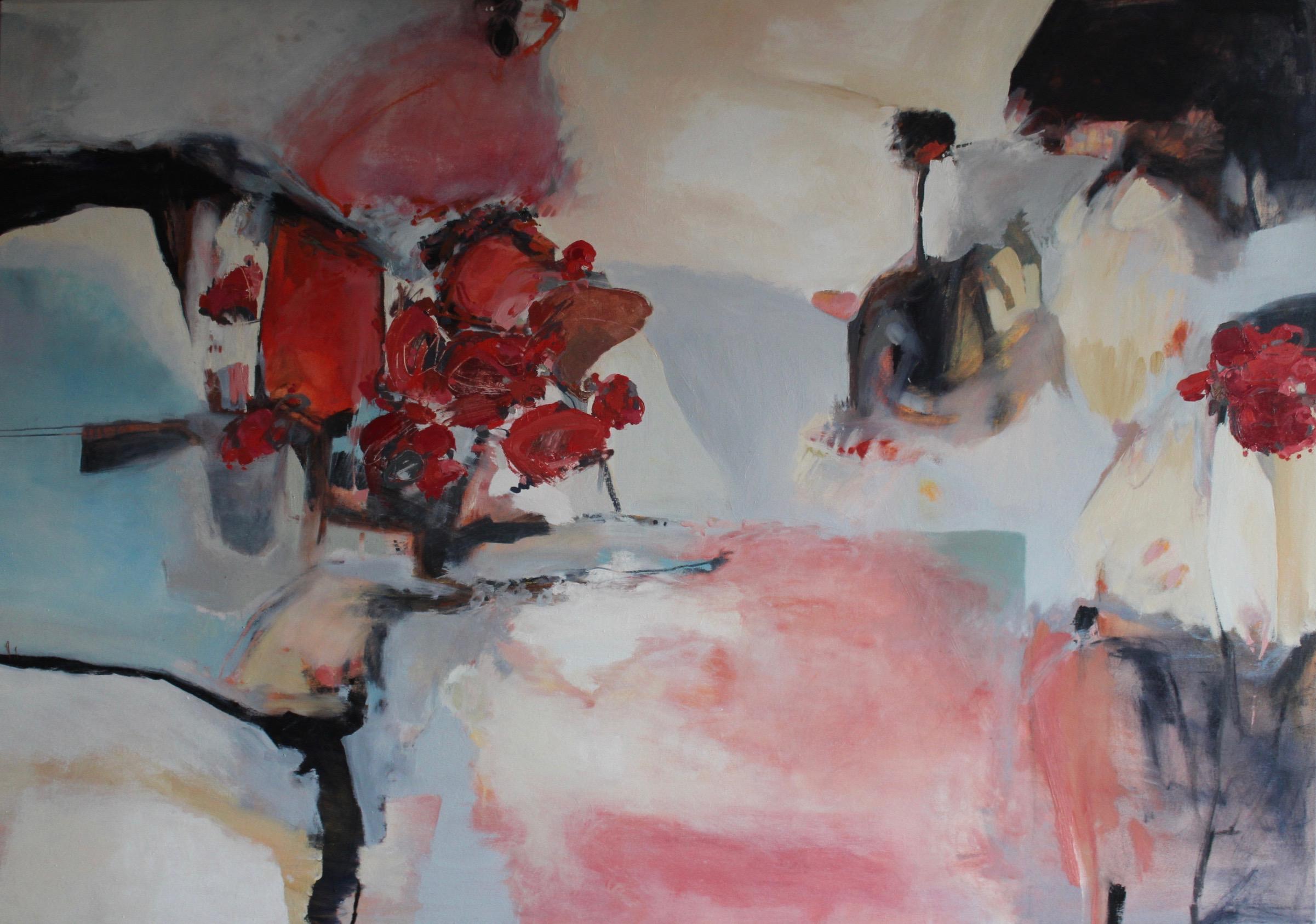 Saint Valentine,2016 / Oil on canvas, 41 x 58 / SOLD