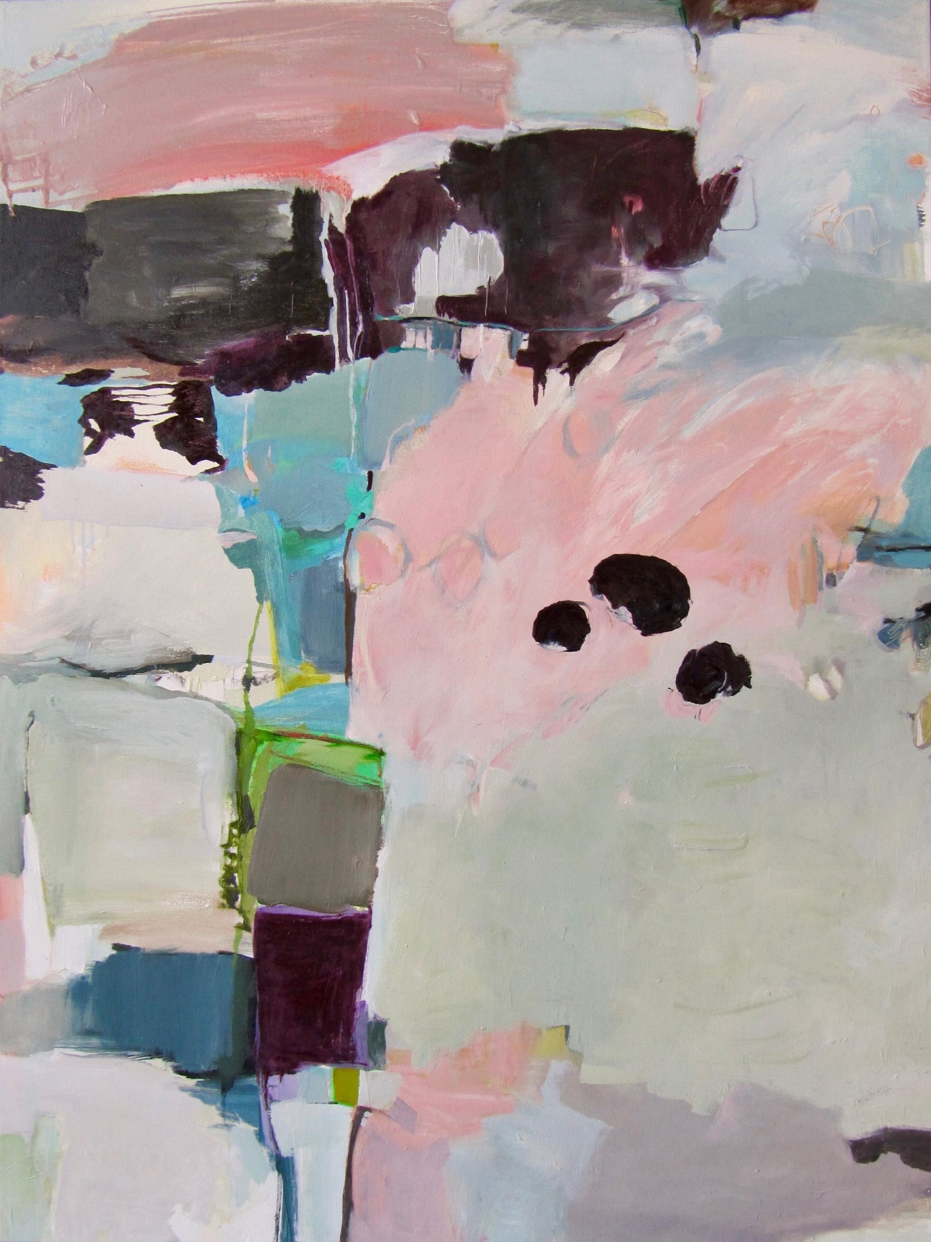 Settle, 2018 / Oil on canvas, 40 x 30