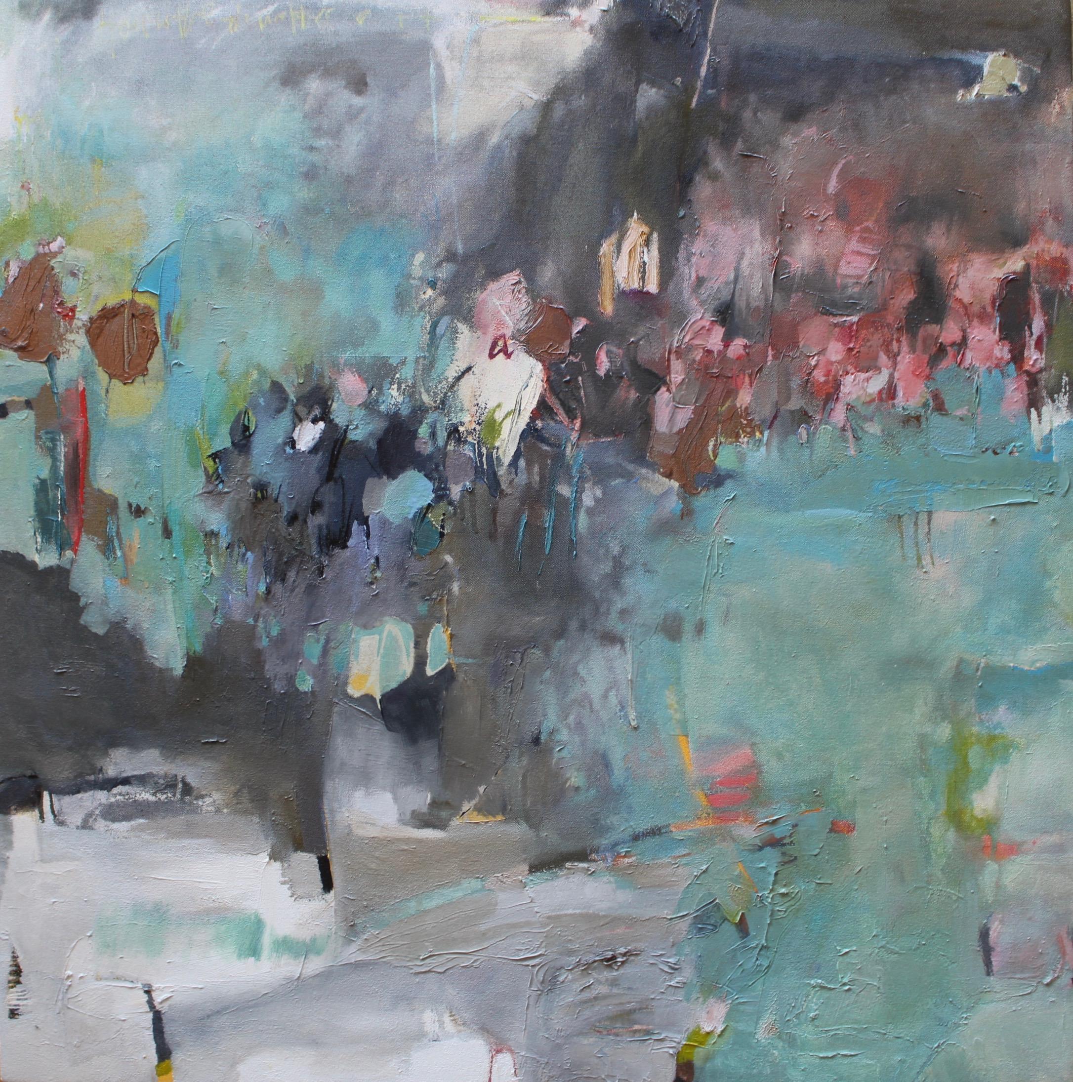 Alchemical Haze, 2018 / Oil on canvas, 30 x 30.5