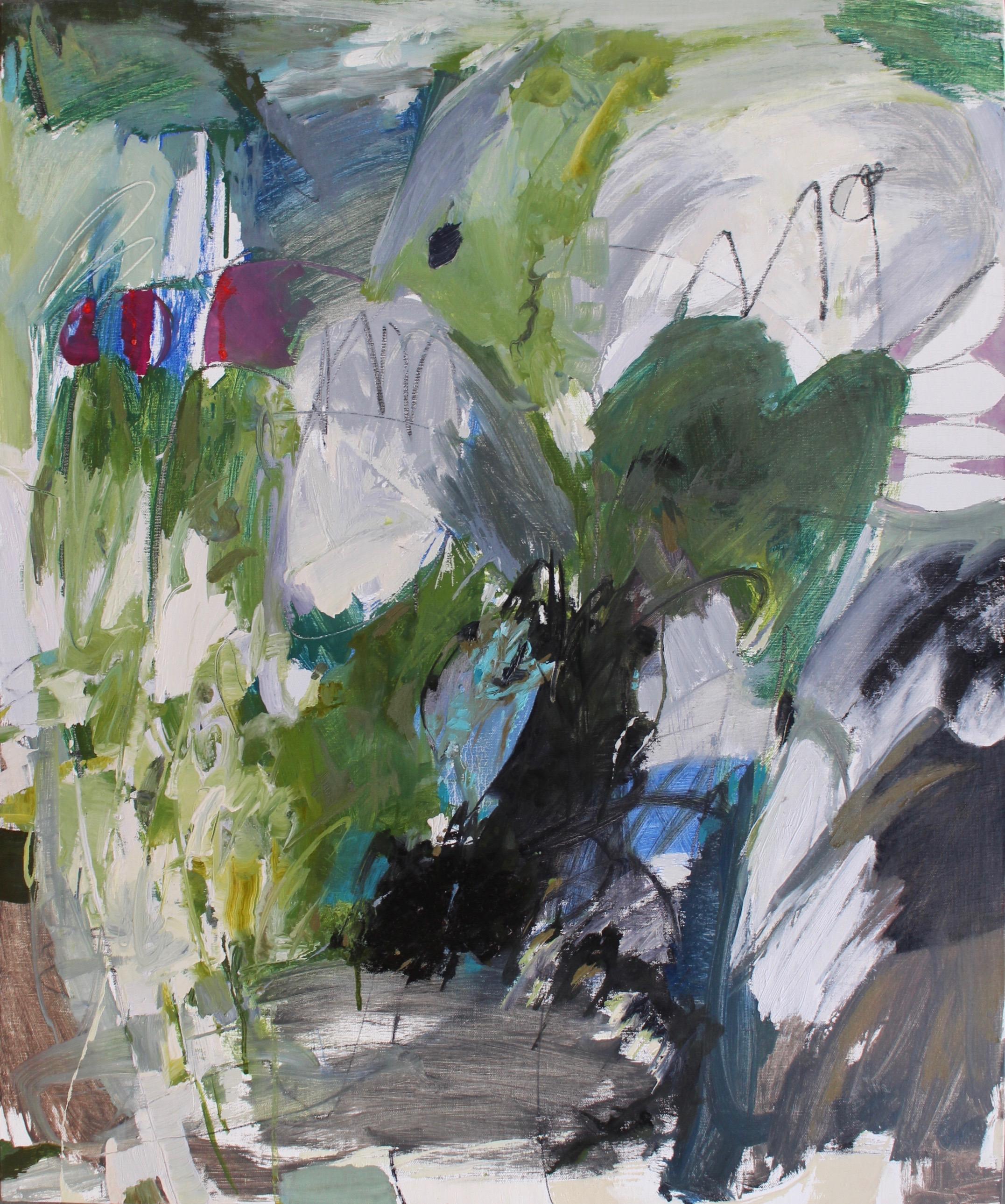 Broken Heartland, 2017 / Oil on linen panel, 24 x 20