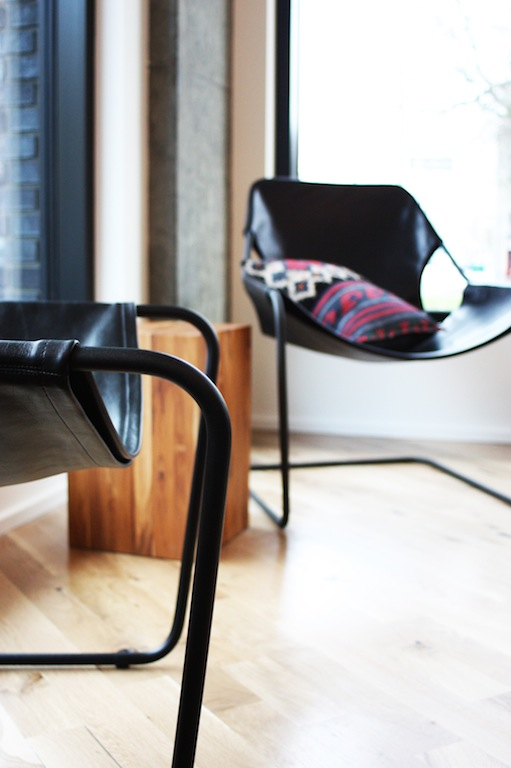 Leather Modern Lounge Chairs