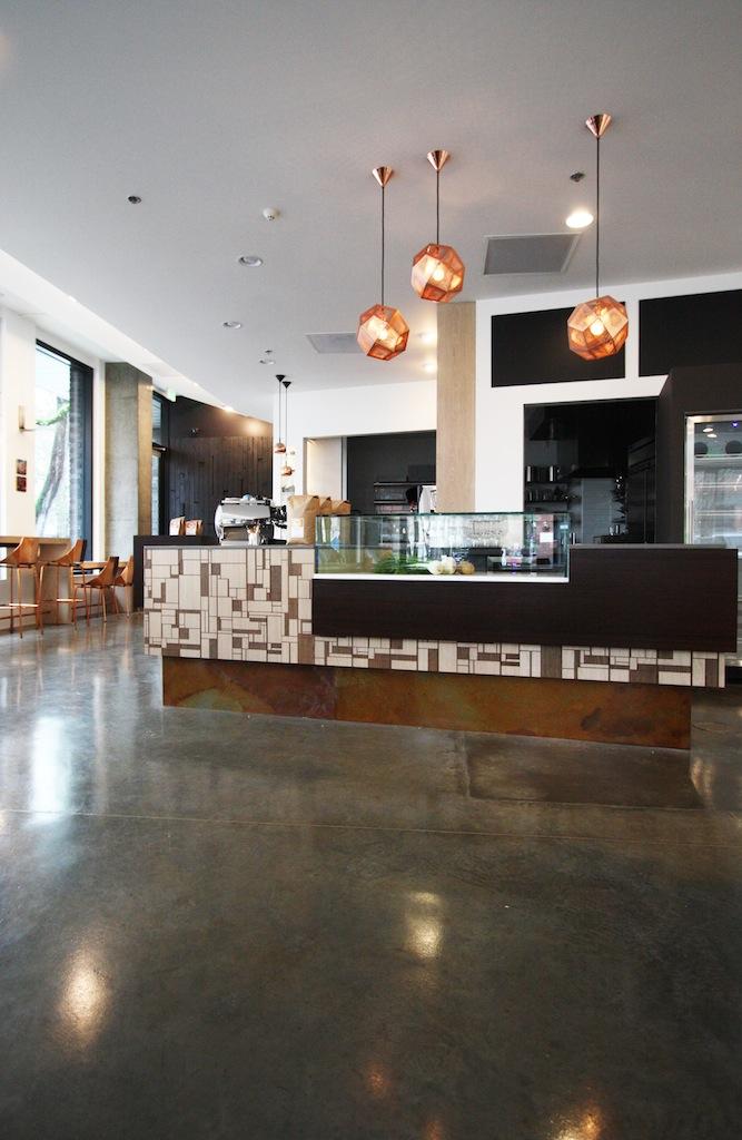 Warm Modern Cafe