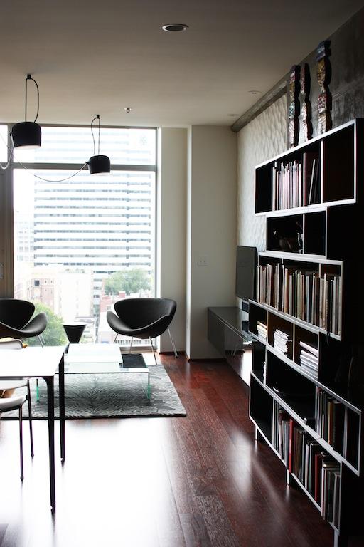 Custom Living Room Shelving