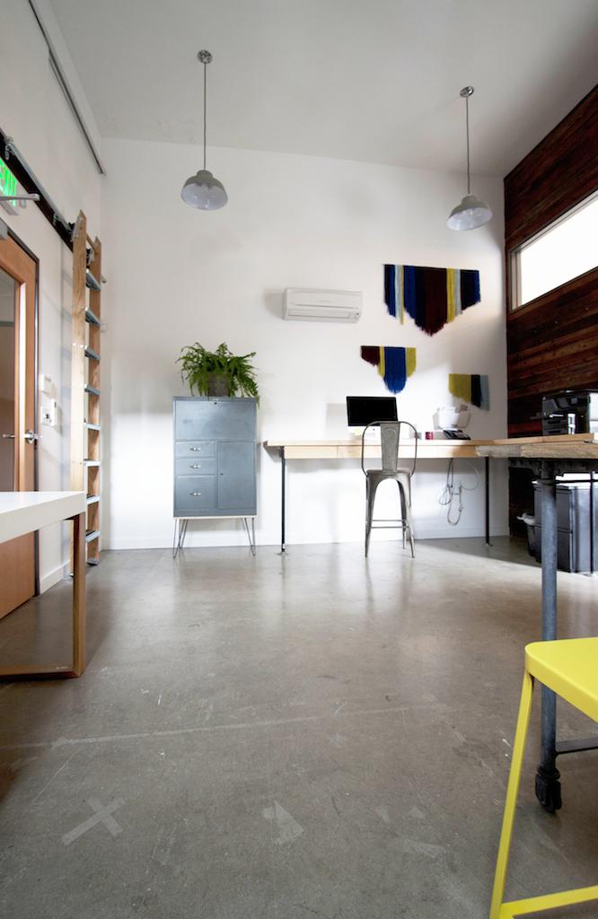 Exposed Concrete Flooring