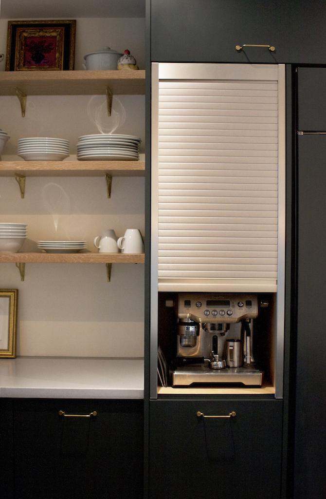 Custom Coffee Cabinetry