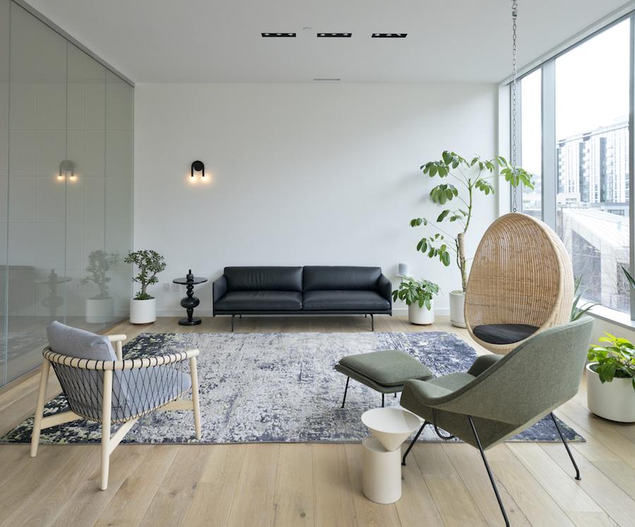Modern Office Remodel