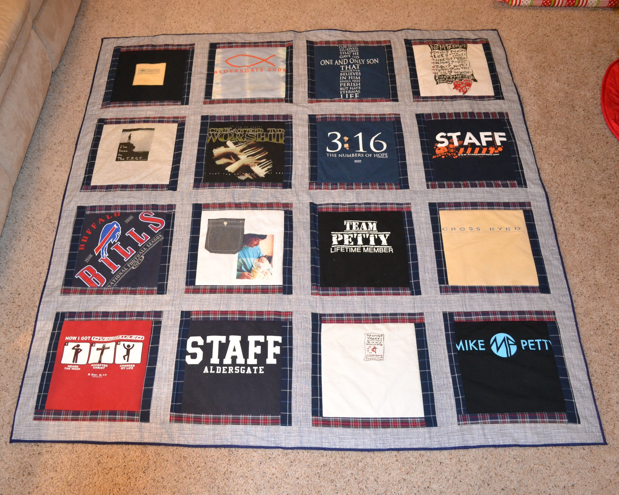 Memory Quilts The Custom Quilt House