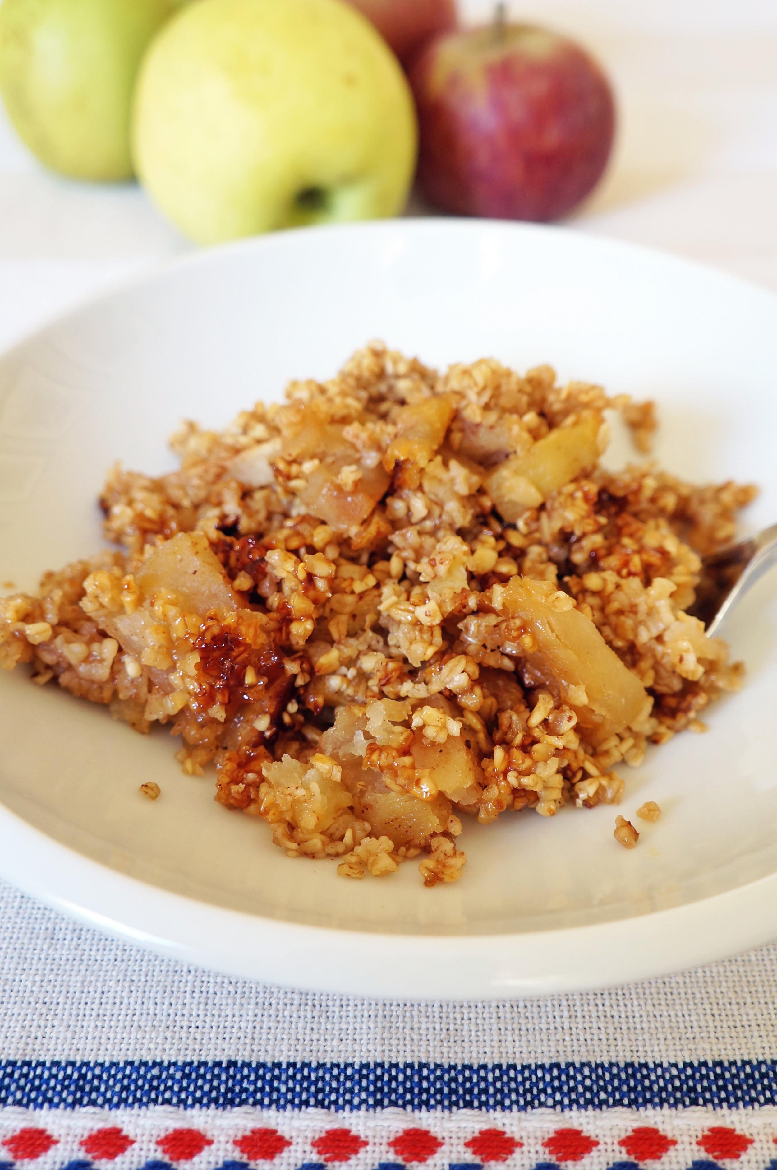 a healthier brown betty via sarahdigrazia.com