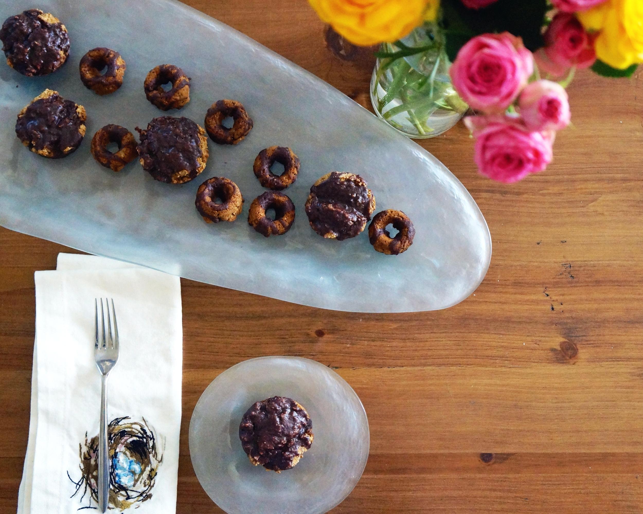 vegan and gluten free buttermilk doughnuts via sarahdigrazia.com
