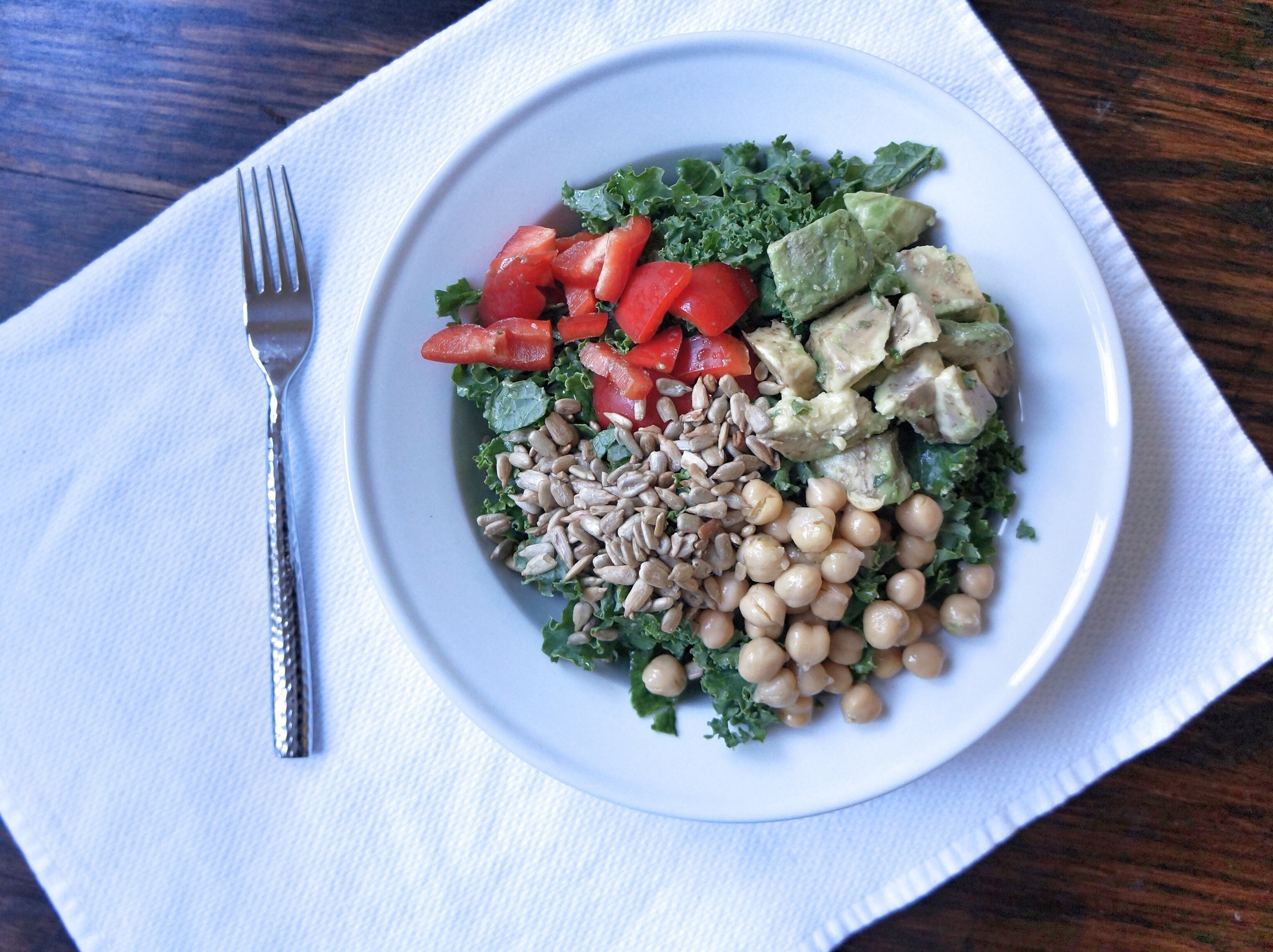 the most amazing kale salad you've ever had