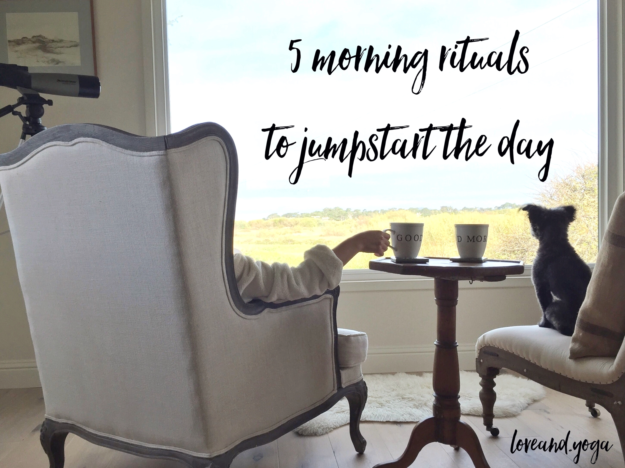 5 morning rituals to jumpstart the day