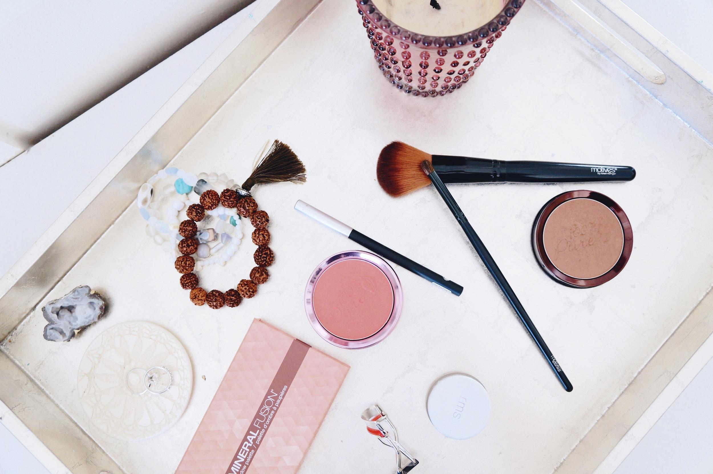 All Natural Makeup Favorites