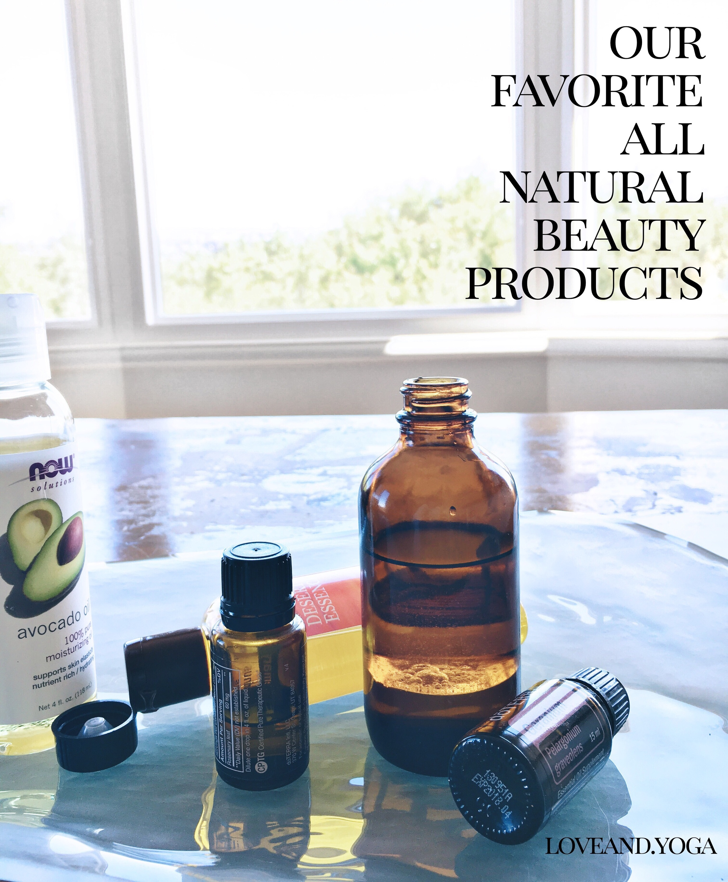 our favorite all natural non makeup beauty products