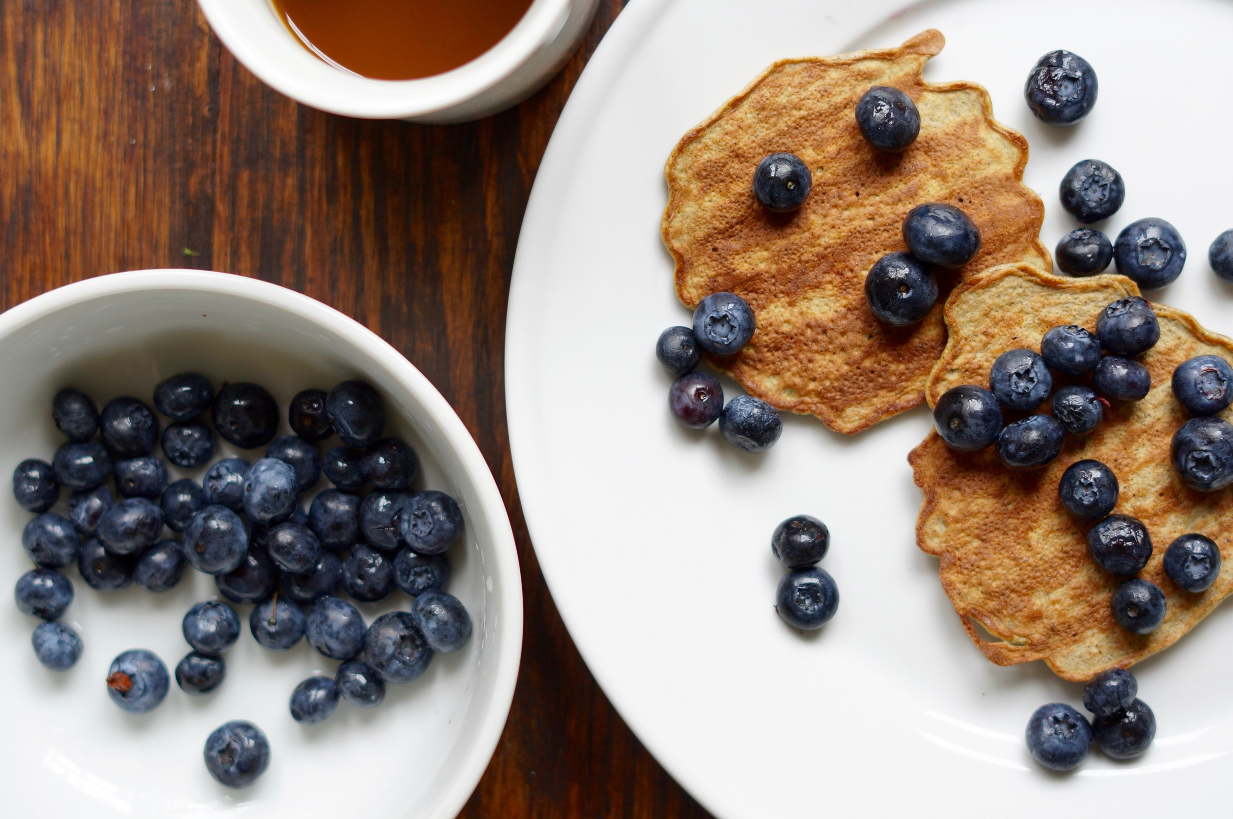 Amazingly simple gluten free pancakes